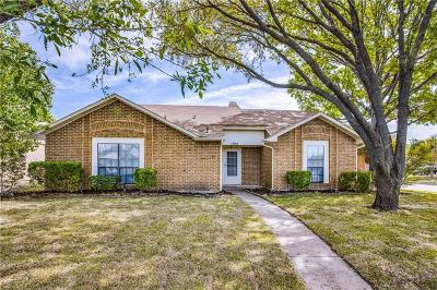 Allen Single Family Home Active Contingent: 1300 Creekwood Court
