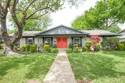Farmers Branch Single Family Home For Sale: 3711 Clubway Lane