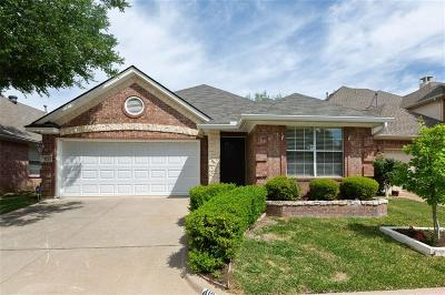 Euless Single Family Home Active Option Contract: 413 Stage Line Drive