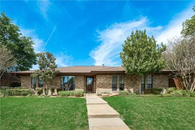 Plano Single Family Home Active Option Contract: 2805 Winfield Drive