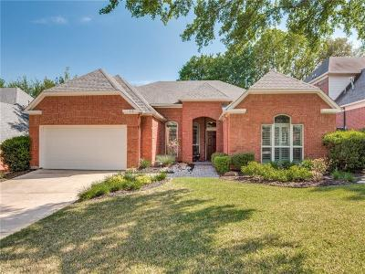 Grapevine Single Family Home Active Option Contract: 713 Wortham Drive