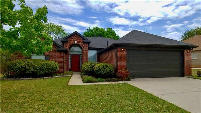 North Richland Hills Single Family Home Active Option Contract: 7240 Coventry Circle