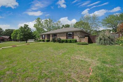 Hurst Single Family Home Active Option Contract: 1020 Calloway Drive