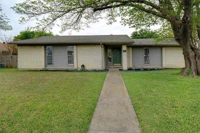 Richardson Single Family Home Active Option Contract: 2118 Oak Brook Drive
