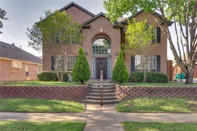 Lewisville Single Family Home Active Option Contract: 860 Summit Pointe