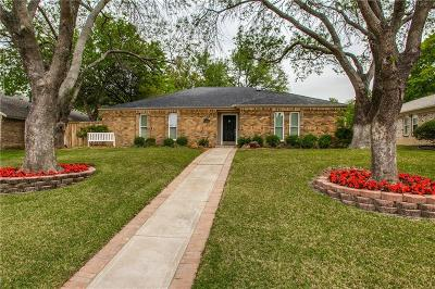 Plano Single Family Home Active Option Contract: 4525 Fargo Drive