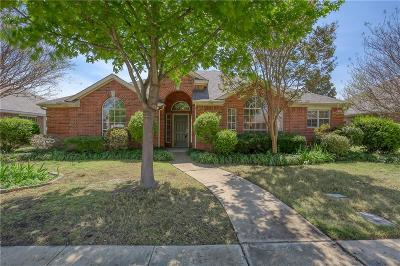 Lewisville Single Family Home Active Option Contract: 1012 Columbia Drive