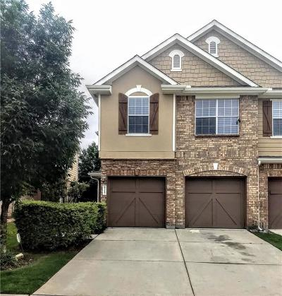 Plano Townhouse Active Contingent: 6217 Madrone Court