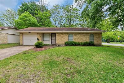 Seagoville Single Family Home Active Option Contract: 802 Hall Road