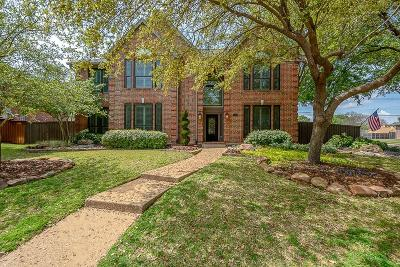 Coppell Single Family Home Active Option Contract: 123 Westwind Drive