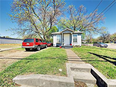 Haltom City Single Family Home Active Option Contract: 5949 Midway Road