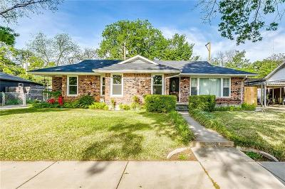 Fort Worth Single Family Home Active Option Contract: 1013 Bonnie Brae Avenue