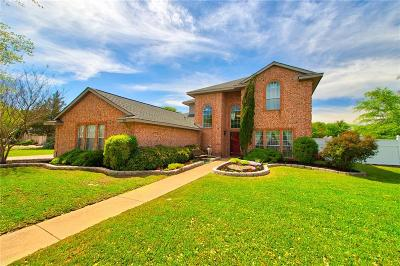 Waxahachie Single Family Home Active Option Contract: 245 Bent Creek Drive