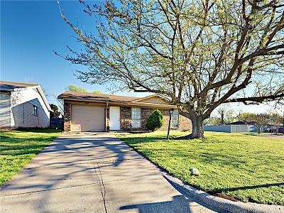 Grand Prairie Single Family Home Active Option Contract: 1726 Pisces Street