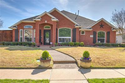 The Colony Single Family Home Active Option Contract: 6424 Marlar Lane