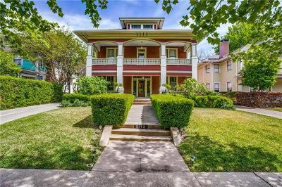 Dallas County Single Family Home Active Option Contract: 5112 Victor Street