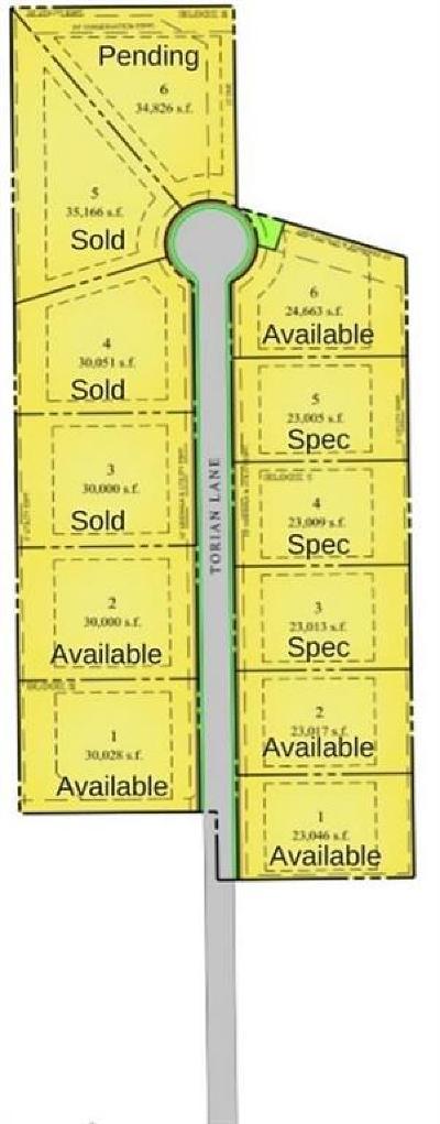 Southlake Residential Lots & Land For Sale: 1736 Torian Lane