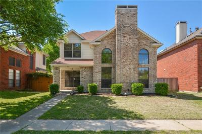 Coppell Single Family Home Active Option Contract: 743 Woodlake Drive