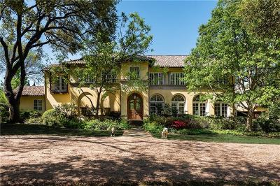 Dallas County Single Family Home For Sale: 9007 Briarwood Lane