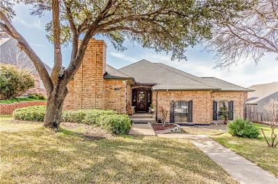 Carrollton Single Family Home For Sale: 1704 Turtle Rock Court