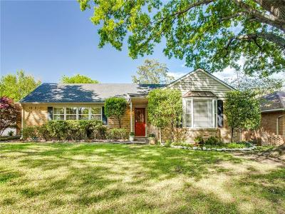 Dallas Single Family Home For Sale: 6211 Town Hill Lane