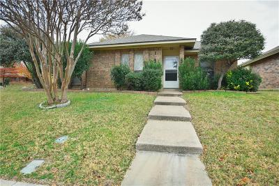 Carrollton Single Family Home Active Option Contract: 1745 Saint James Drive