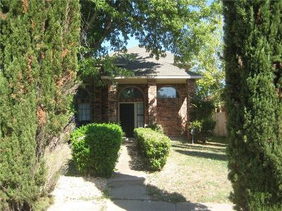 Mesquite Single Family Home For Sale: 1533 Wheatfield Court