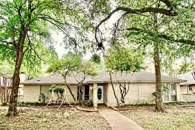 Allen Single Family Home Active Option Contract: 805 E Concord Lane