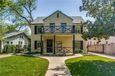 Fort Worth Single Family Home For Sale: 1209 Virginia Place