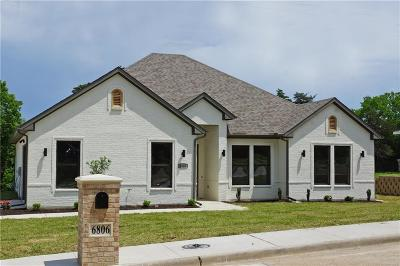 Dallas Single Family Home For Sale: 6806 Cliffwood Drive