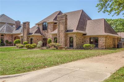 Grand Prairie Single Family Home Active Option Contract: 15 Heritage Court