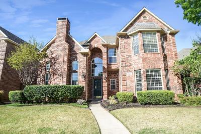 Coppell Single Family Home For Sale: 693 Nottingham Drive