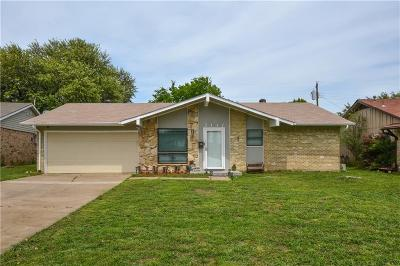Carrollton Single Family Home Active Contingent: 2117 Bowie Drive
