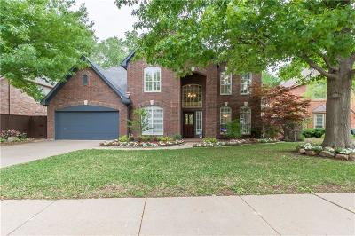 Coppell Single Family Home Active Option Contract: 308 Beechwood Lane