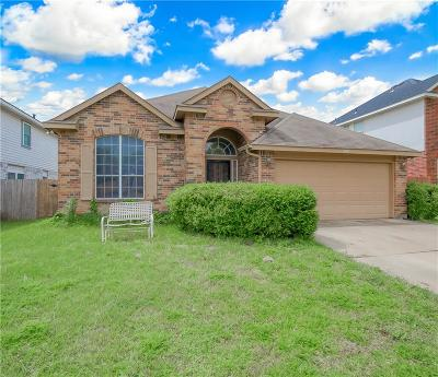 Fort Worth Single Family Home Active Contingent: 2709 Clovermeadow Drive