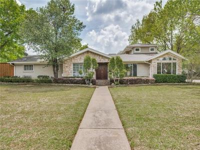 Single Family Home For Sale: 10422 Rosser Circle