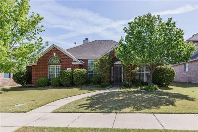 Rockwall Single Family Home Active Option Contract: 1324 Salinas Drive