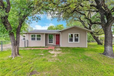 Azle Single Family Home Active Option Contract: 560 Lakeside Drive