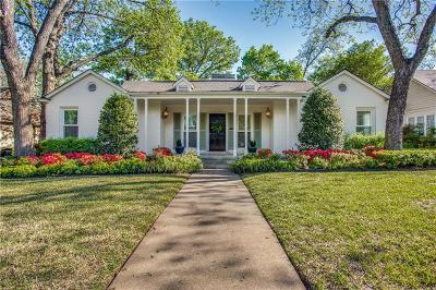Fort Worth Single Family Home For Sale: 4233 Pershing Avenue