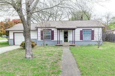 Benbrook Single Family Home For Sale: 1001 Wade Hampton Street