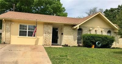 Lewisville Single Family Home Active Option Contract: 1219 Brownwood Drive