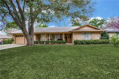 Fort Worth Single Family Home Active Option Contract: 7244 Martha Lane