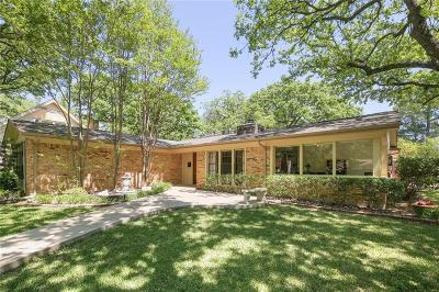 Irving Single Family Home Active Option Contract: 1602 Glen Valley Drive
