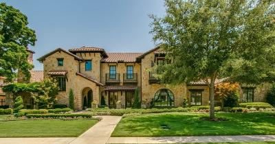 Colleyville TX Single Family Home Active Kick Out: $1,650,000