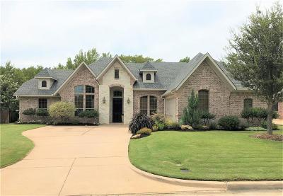 Hurst Single Family Home Active Option Contract: 745 Trails End Circle