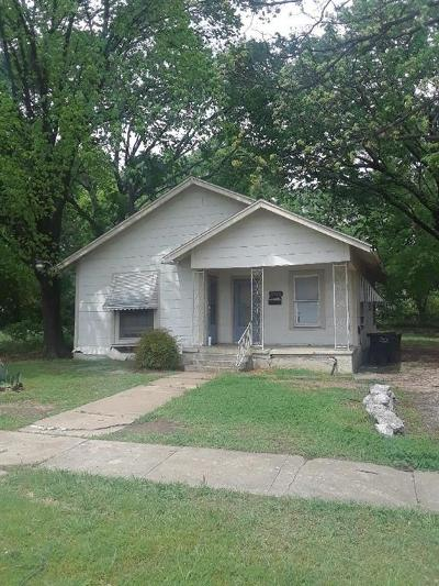 Fort Worth Single Family Home For Sale: 1215 Roberts Street E