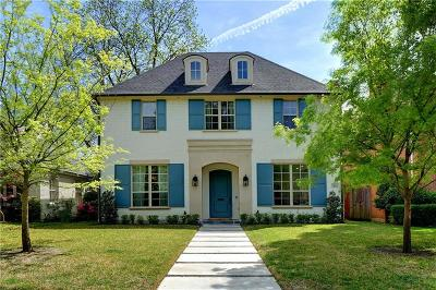 Dallas County Single Family Home For Sale: 3821 Stanford Avenue
