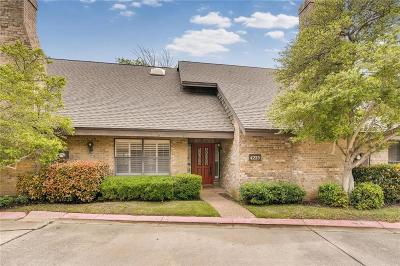 Fort Worth Townhouse Active Contingent: 4225 Brook Tree Drive