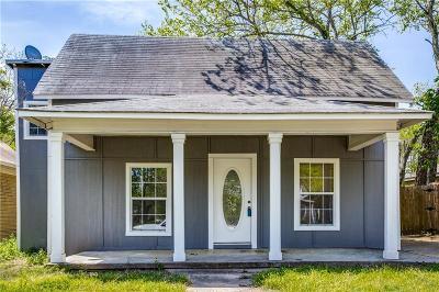 Denison Single Family Home For Sale: 1010 W Chestnut Street