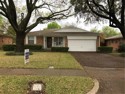 Richardson Single Family Home Active Option Contract: 411 Lynn Street